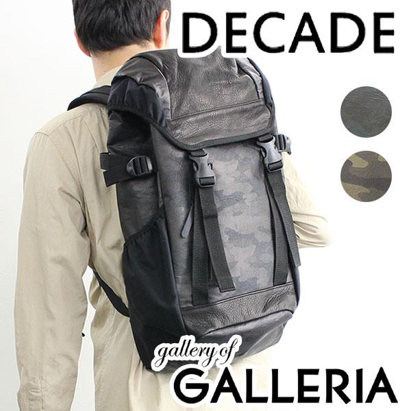 【セール30%OFF】DECADE ディケイド バッグ リュックサック バックパック カモ メンズ DCD-00601A【ラッキーシール対応】