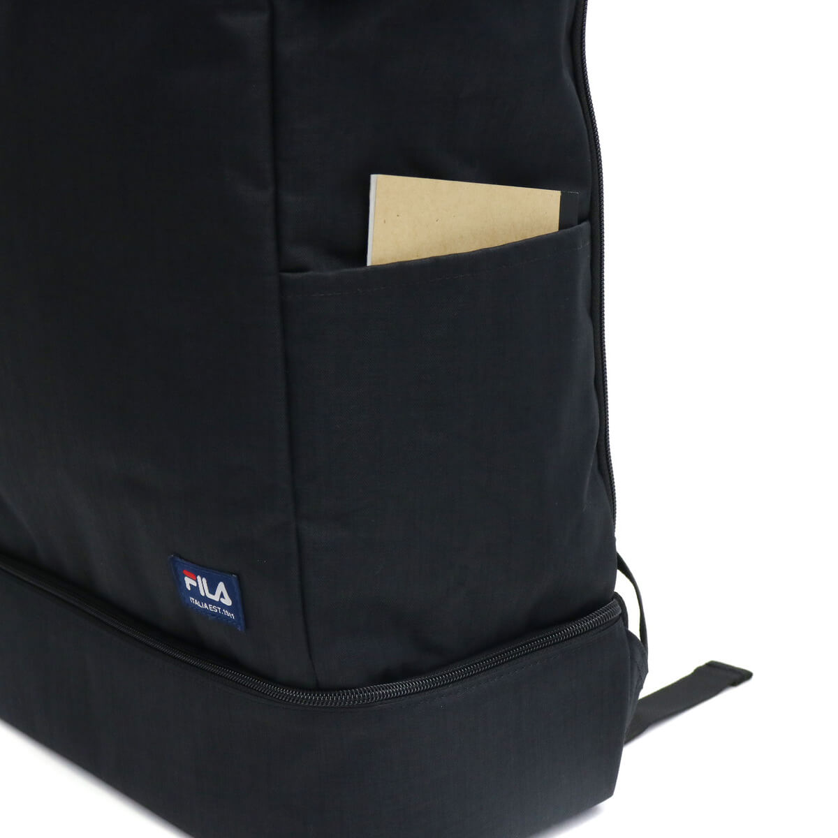 FILA rucksack Primo square day pack 29L attending school club activities  schoolbag B4 PC storing men gap Dis man and woman combined use junior high