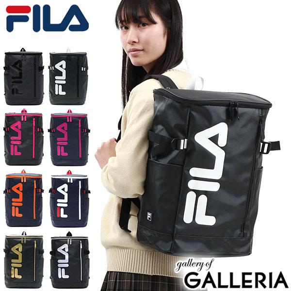 FILA signal rucksack daypack commuting club activities sports school bag A4  B4 square men s ladies unisex dual high school student high school student  7576 4546d3c7fd