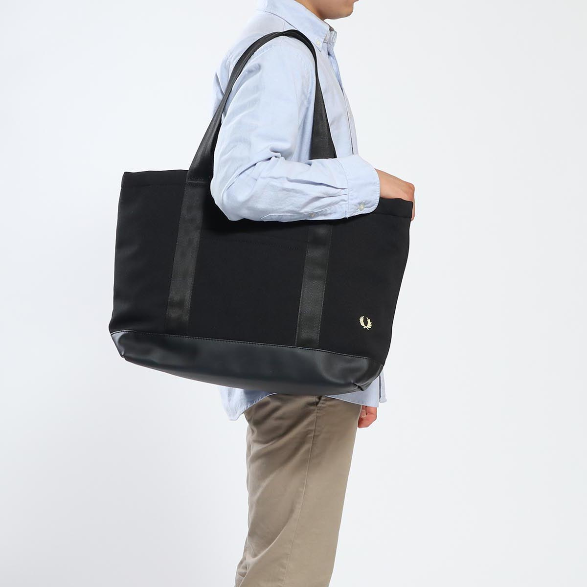 GALLERIA Bag-Luggage  Fred Perry bag FRED PERRY tote bag PIQUE TOTE BAG  Thoth attending school commuting B4 men gap Dis F9542  841c873fdbdf1