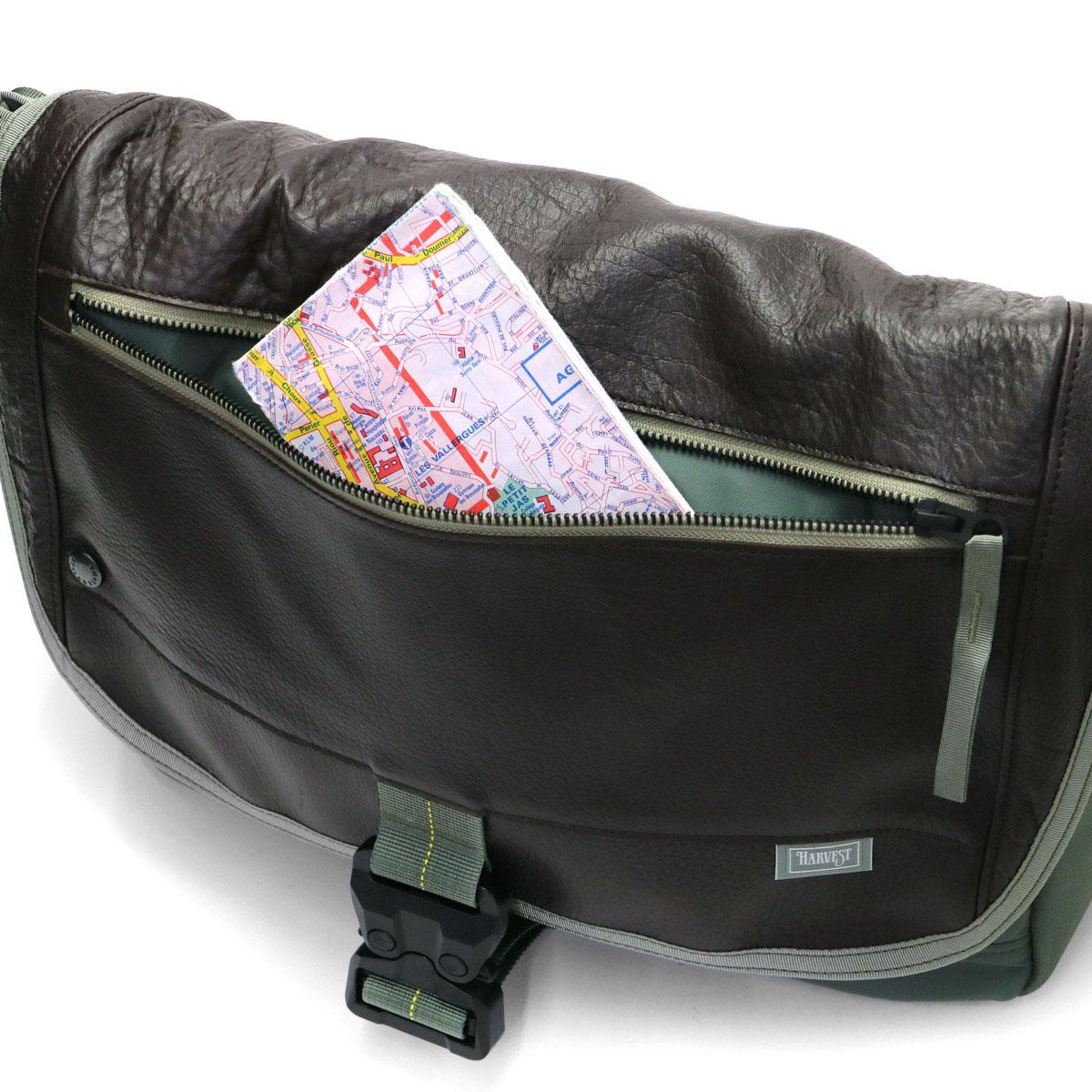 Harvest Label Custom Messenger Bag M Shoulder Military Mens Made In An Hc 0105
