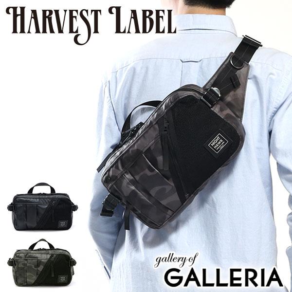 ハーヴェストレーベル バッグ HARVEST LABEL NIGHTHAWK WAIST POUCH ウエストバッグ メンズ ナイトホーク 斜めがけバッグ レディース ハーベストレーベル HN-0008