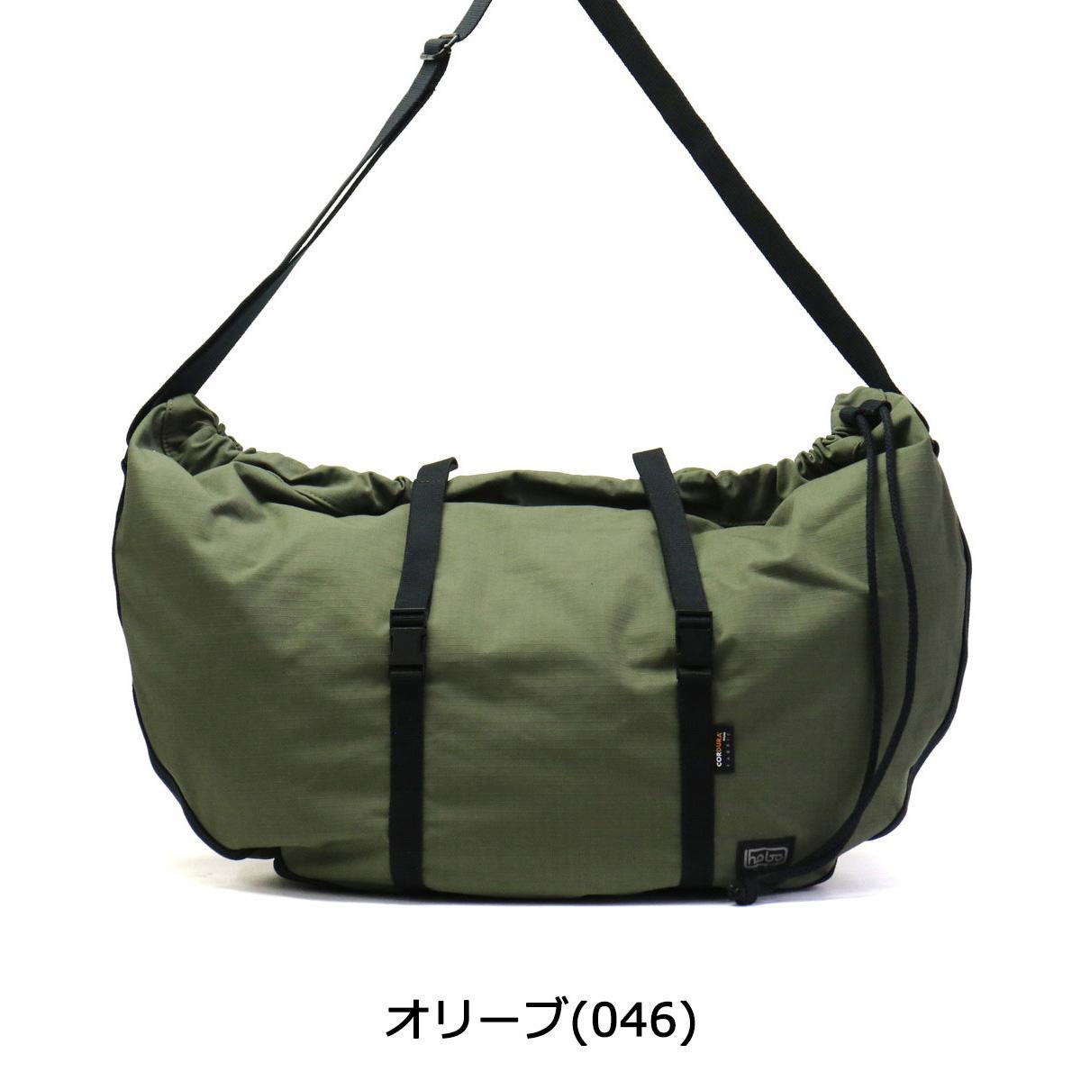 Hobo Shoulder Bag Cordura Cotton Nylon Ripstop Round Men S Women Casual Hb Bg 2727