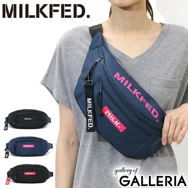 d908291eb754 GALLERIA Bag-Luggage: MILKFED. TOP LOGO FANNY PACK Waist bag bag ...