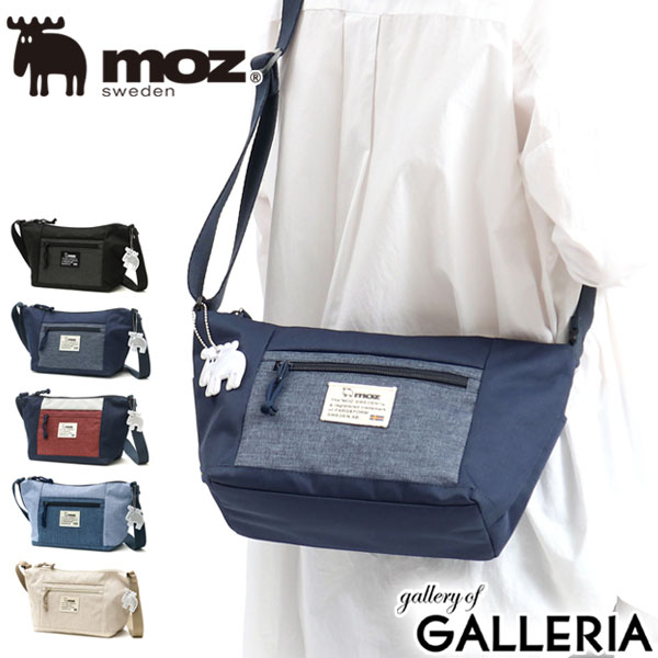 Moz Shoulder Bag Diagonal Cover Small Crescent Moon Type Combi Zzei Combination Swedish Casual Women S Mini 11