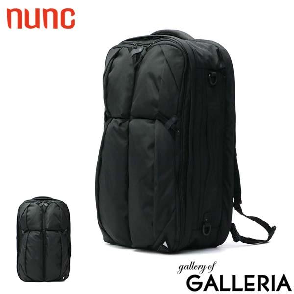 ヌンク リュック nunc バッグ バックパック リュックサック Traveler's Backpack 3WAYバッグ 3WAY PC 旅行 アウトドア 通学 通勤 自転車通勤 ナイロン メンズ レディース NN001010