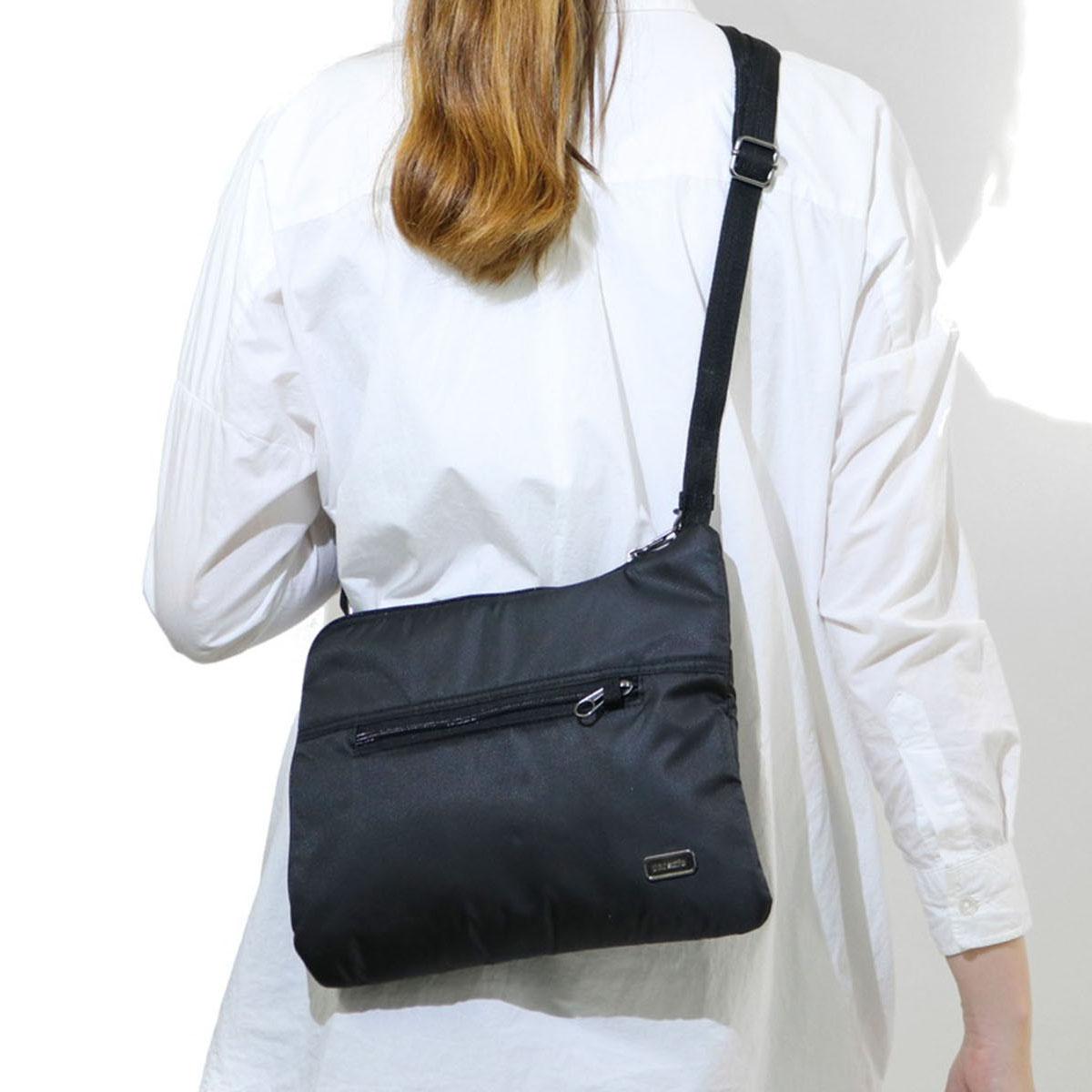 1a42e1ee6c pacsafe shoulder bag light crime prevention ladies Daysafe slim crossbody