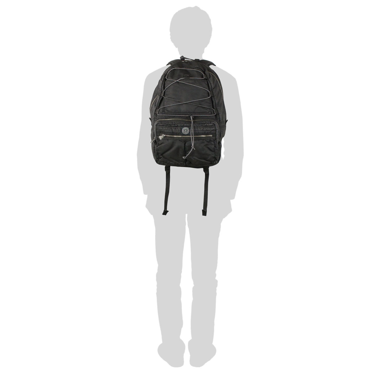 波特波特经典超级尼龙超级尼龙背包背包背包男装经典 PC-015-264 袋乐天点 10 倍