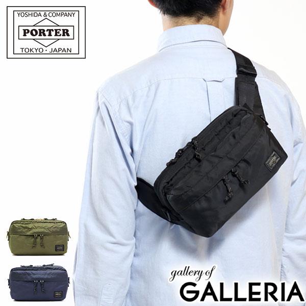 65f15c0d5d487 PORTER FORCE 2way waist bag shoulder bag 855-07501