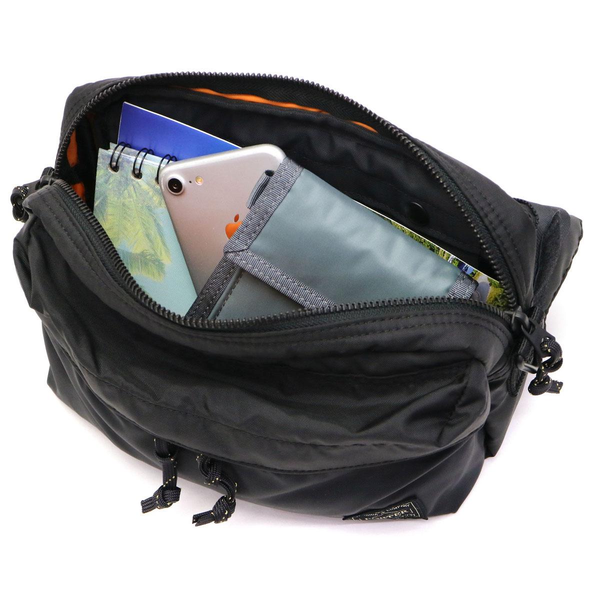 b2cb4afd93ff GALLERIA Bag-Luggage  PORTER FORCE 2way waist bag shoulder bag 855 ...