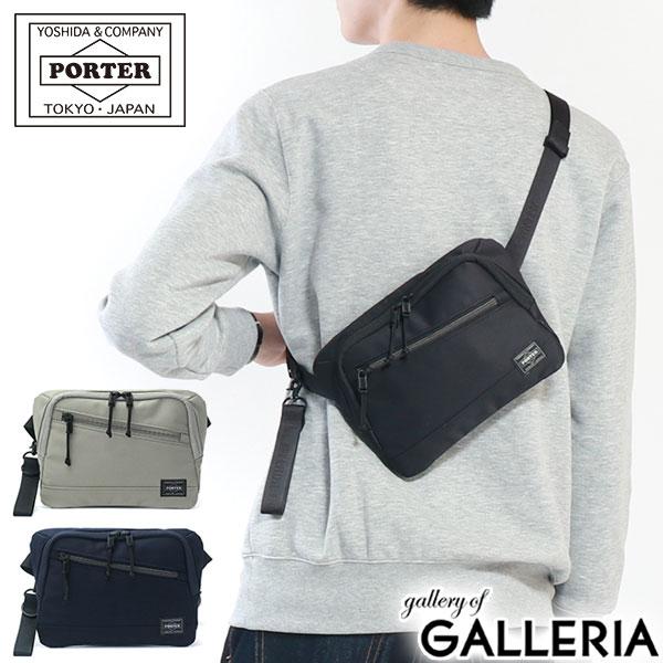 吉田カバン ポーター ウエストバッグ PORTER FRONT フロント ウエストポーチ WAIST BAG 斜めがけ 小さめ コンパクト ボディバッグ カジュアル メンズ レディース 687-17032 新作 2018