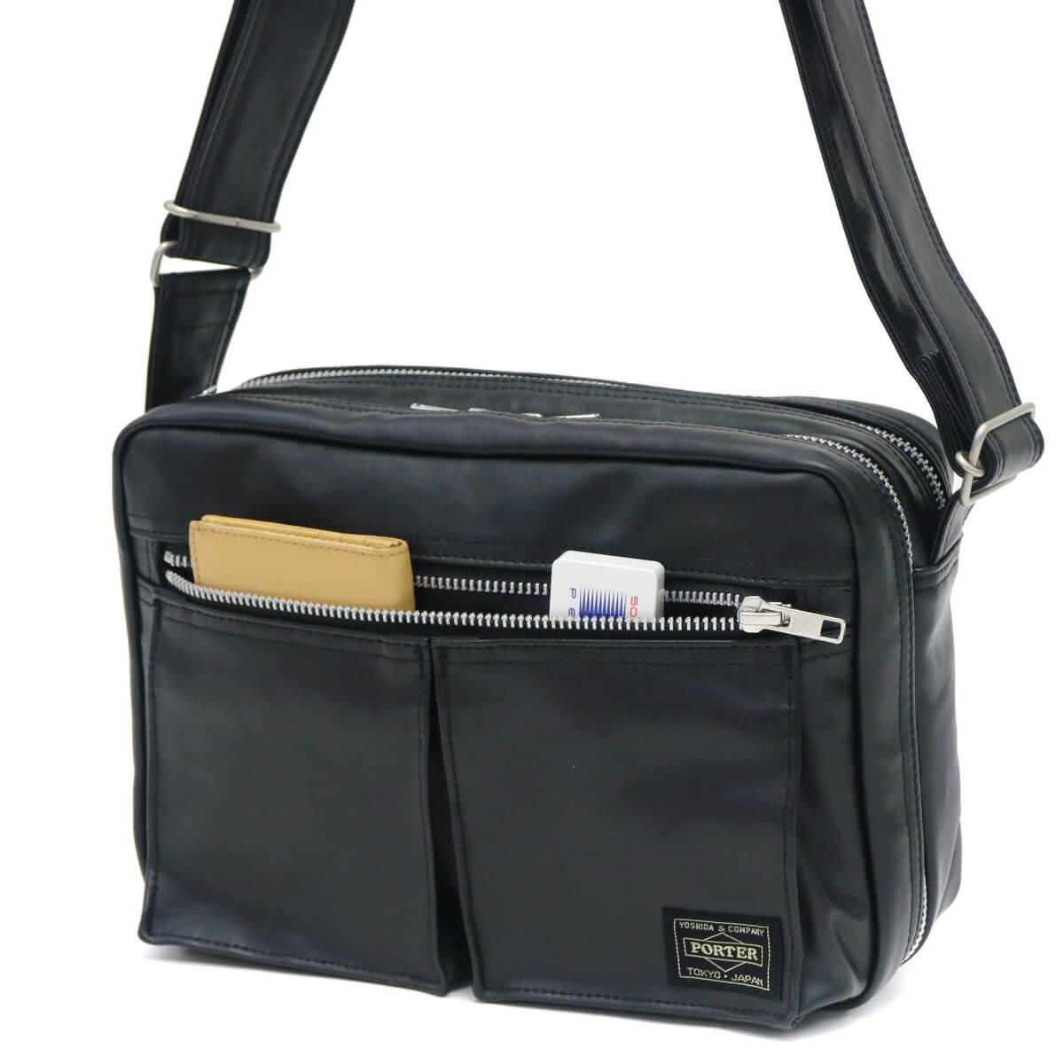 ebdbe11af4a ... Yoshida bags Porter freestyle shoulder bag (S) PORTER FREE STYLE  diagonally smaller size men's ...