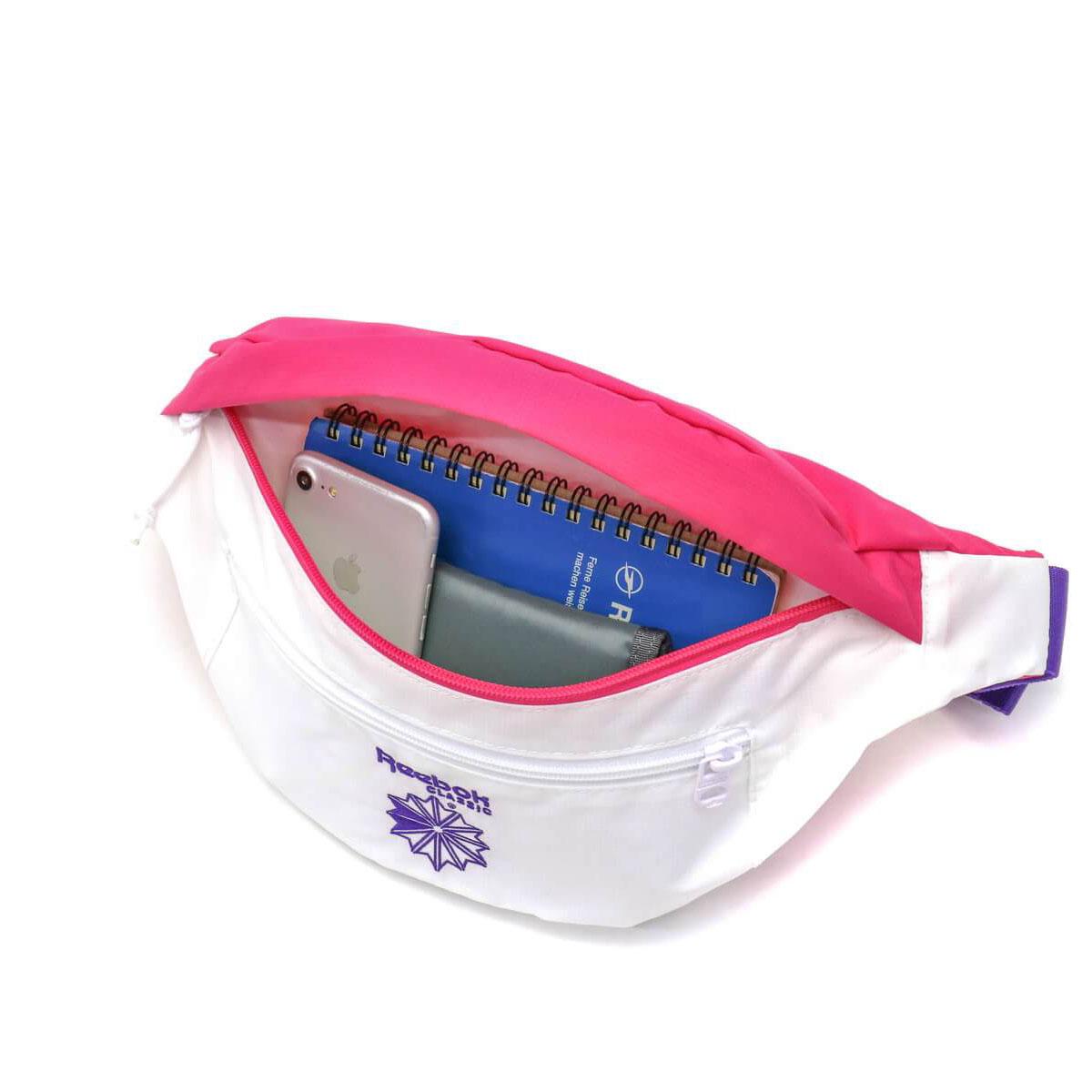 1db016fc69312 Reebok CLASSIC Waist Bag West Porch CL Retro Running Men s Women s FSA 18