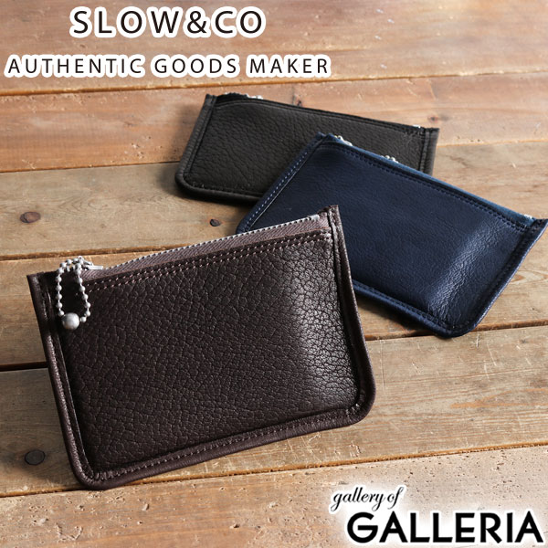 huge selection of b6810 67952 SLOW DEER soft pouch wallet xs wallet coin case coin purse card case pouch  zipper small size men's women's leather genuine leather SO700H