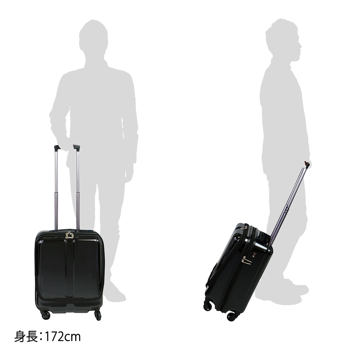 ACE traveller suitcase ACE World Traveler carry case plow new # 05810 cabin carry-on zip 38L one or two nights about compact S size TSA lock hard travel
