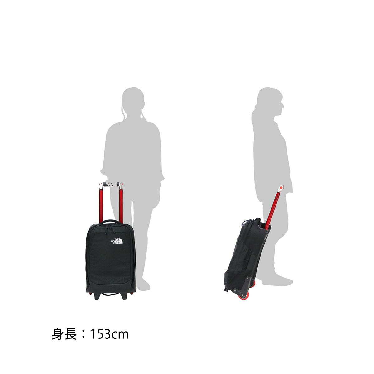 f2adc054f4e ... THE NORTH FACE carry bag Overhead 29L trolley travel in-flight carry-in  NM ...