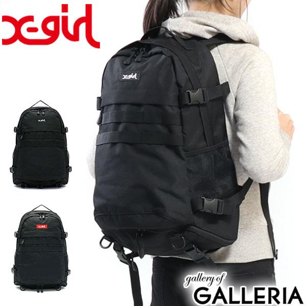 e31cdd3a5e10 X-girl バックパック 限定モデル レディース 通学 エックスガール LOGO ...