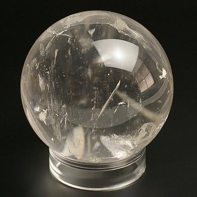 アフガン水晶丸玉