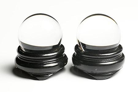 31~32mm5A螺旋水晶(左水晶・右水晶)丸玉セット