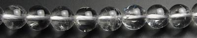 6mmハーキマー水晶粒売りビーズ ハーキマーダイヤモンドラウンドビーズ アメリカ 商品 使い勝手の良い ニューヨーク州産