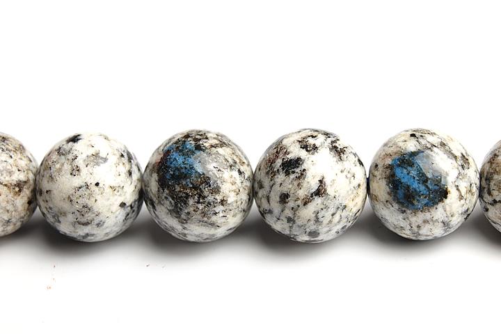12mmK2ブルー粒売りビーズ ファイナルグレード++ 定番キャンバス 安心の定価販売 パキスタン カラコルム山脈産