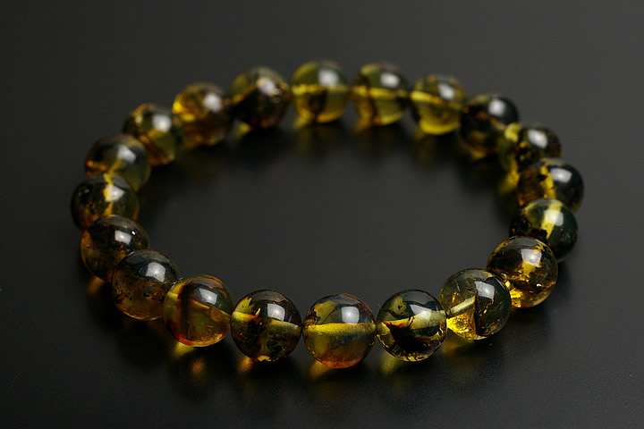 【全商品オープニング価格 特別価格】 10.5mm3Aブルーアンバーブレスレット, vie jewelry:58ab3e6c --- supercanaltv.zonalivresh.dominiotemporario.com
