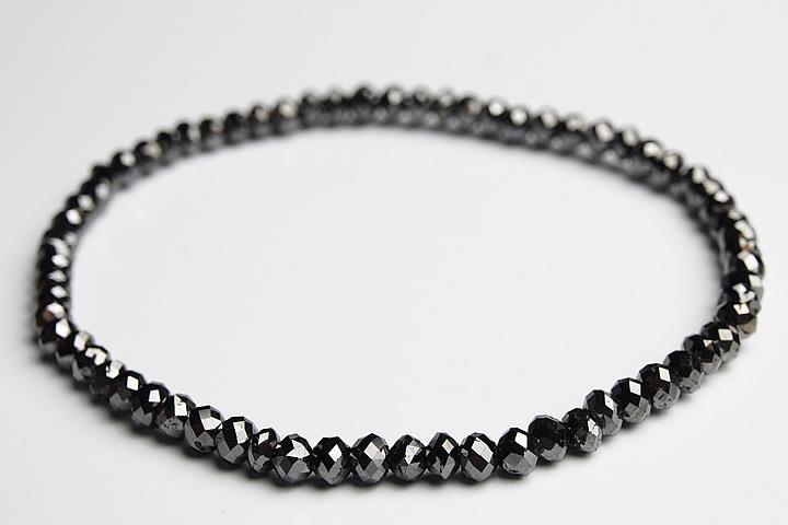 【お買得!】 20.5ct3.5mmブラックダイヤモンドカットブレスレット 20.5ct, 美浦村:8c8b3ed6 --- clftranspo.dominiotemporario.com