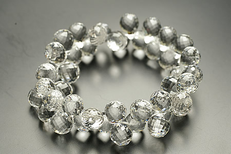 100%本物保証! 5A最高品質純天然水晶ドロップカットブレスレット, ハッピィホームコンセプト:533c0897 --- supercanaltv.zonalivresh.dominiotemporario.com
