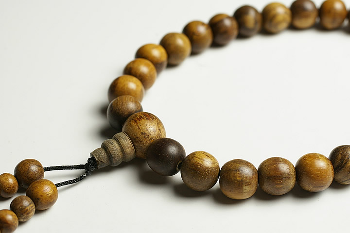11mm沈香数珠 インドネシア産