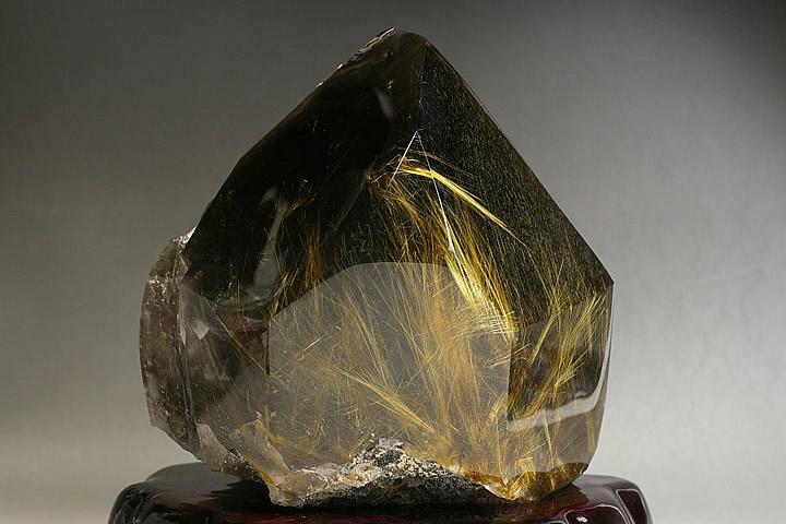 博物館クラス!超特大!スモーキールチル水晶, 喜多方市:b34765b5 --- malebeauty.xyz