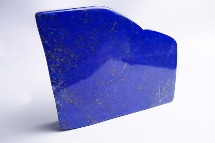 プレミアムグレード 851.7gラピスラズリー磨き原石 アフガニスタン産