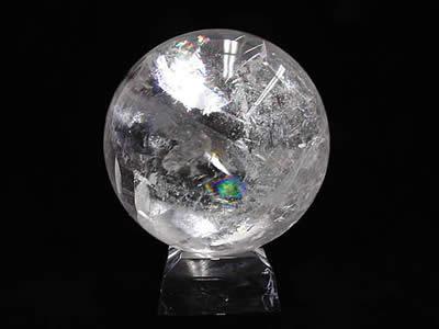 最高の品質の レインボー水晶丸玉(ブラジル産), fofoca:05367426 --- eamgalib.ru