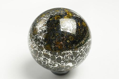 博物館クラス!超特大サイズ!60mmパラサイト丸玉 セイムチャン隕石 パラサイト