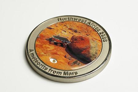 火星隕石コイン(Mars Rock) ネコポス対応!