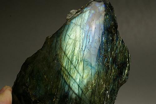 大きく美しいラブラドライト原石 マダガスカル産1.14kg