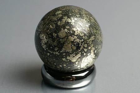 25mmヒーラーズゴールド丸玉スフェア(プログラミング済み)