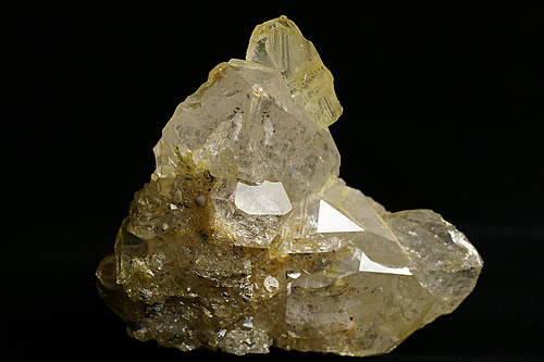 天然オーロラ水晶クラスター アフガニスタン産