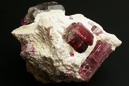 ピンクトルマリン原石 アフガニスタン産