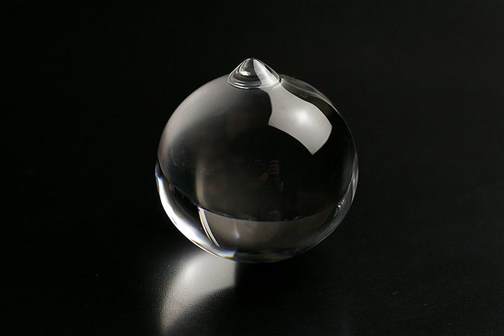 浄化グッズ 最高級品5A無垢水晶宝珠丸玉35mm