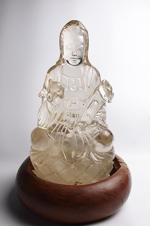 ウラルレムリアン彫刻 観音彫刻 ウラル産