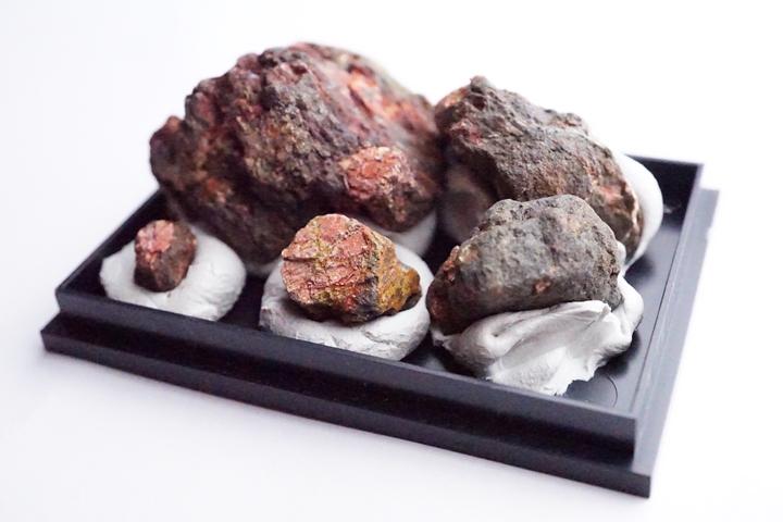 桜石 母岩付き 京都府亀岡市産 天然記念物指定