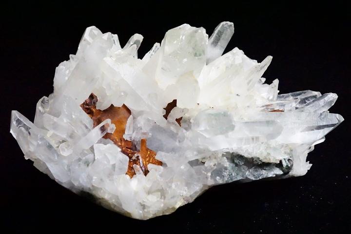 マニカラン水晶 クラスター 809.0g ファイナルグレード++