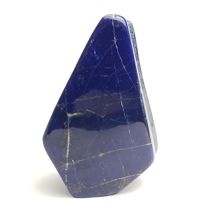 ファイナルグレード 413.0gラピスラズリー磨き原石 アフガニスタン産