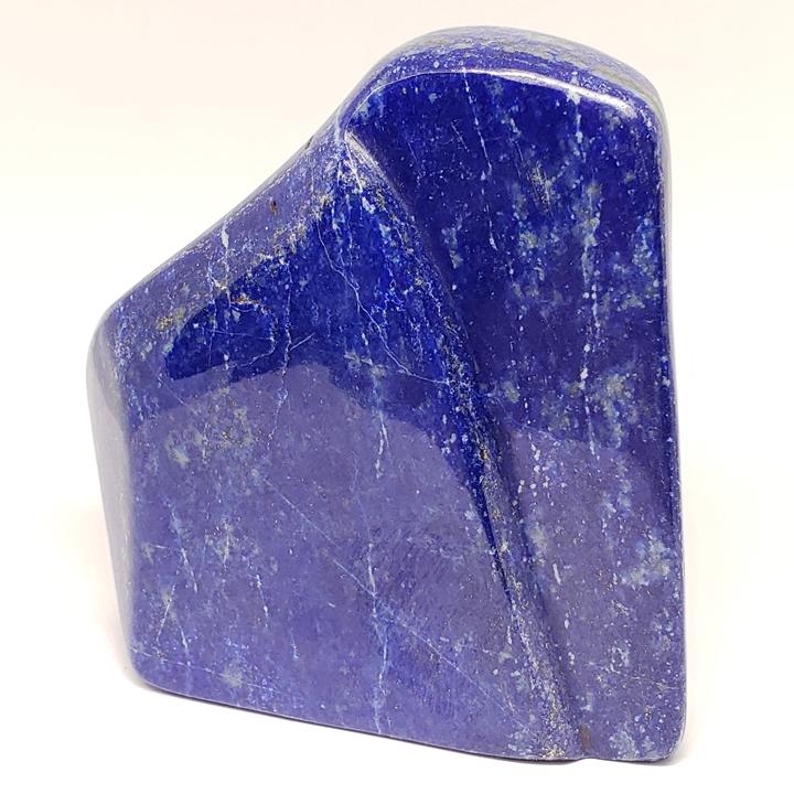 プレミアムグレード 501.1gラピスラズリー磨き原石 アフガニスタン産