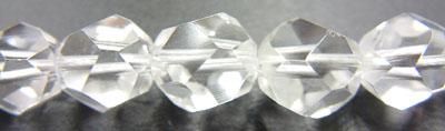 水晶 8mm20面カット粒売り