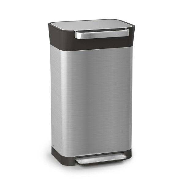Joseph Joseph クラッシュボックス 30030 ゴミを1/3に圧縮するゴミ箱
