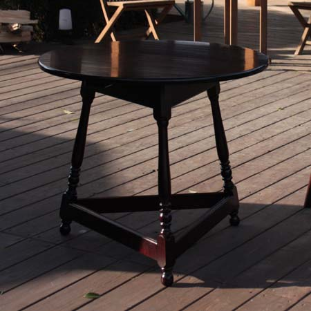 手作り ハンドメイド の食卓 テーブル 国産の無垢材を使用し 国内在庫 B型クリケットテーブル 一生ものにふさわしい上質の丸テーブルです 松本民芸家具 職人が作る本物の木の家具 完全送料無料