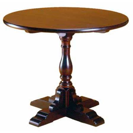 手作り ハンドメイド のテーブル国産の無垢材を使った 職人手作り 贈答 日本 松本民芸家具 こだわりの食卓です A-1型丸卓