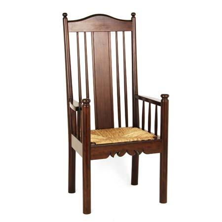 セール 特集 手作り ハンドメイド の椅子 松本民芸家具 HB型ラッシアームチェア 藺草イグサの一種 国産の無垢材とフトイ を使用した 丈夫なイスです モデル着用&注目アイテム