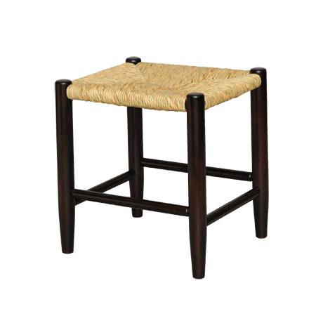 輸入 手作り ハンドメイド の椅子 高額売筋 松本民芸家具 国産のミズメザクラとフトイ を使用した使うほどに味のでるスツールです #19型ラッシスツール イグサ